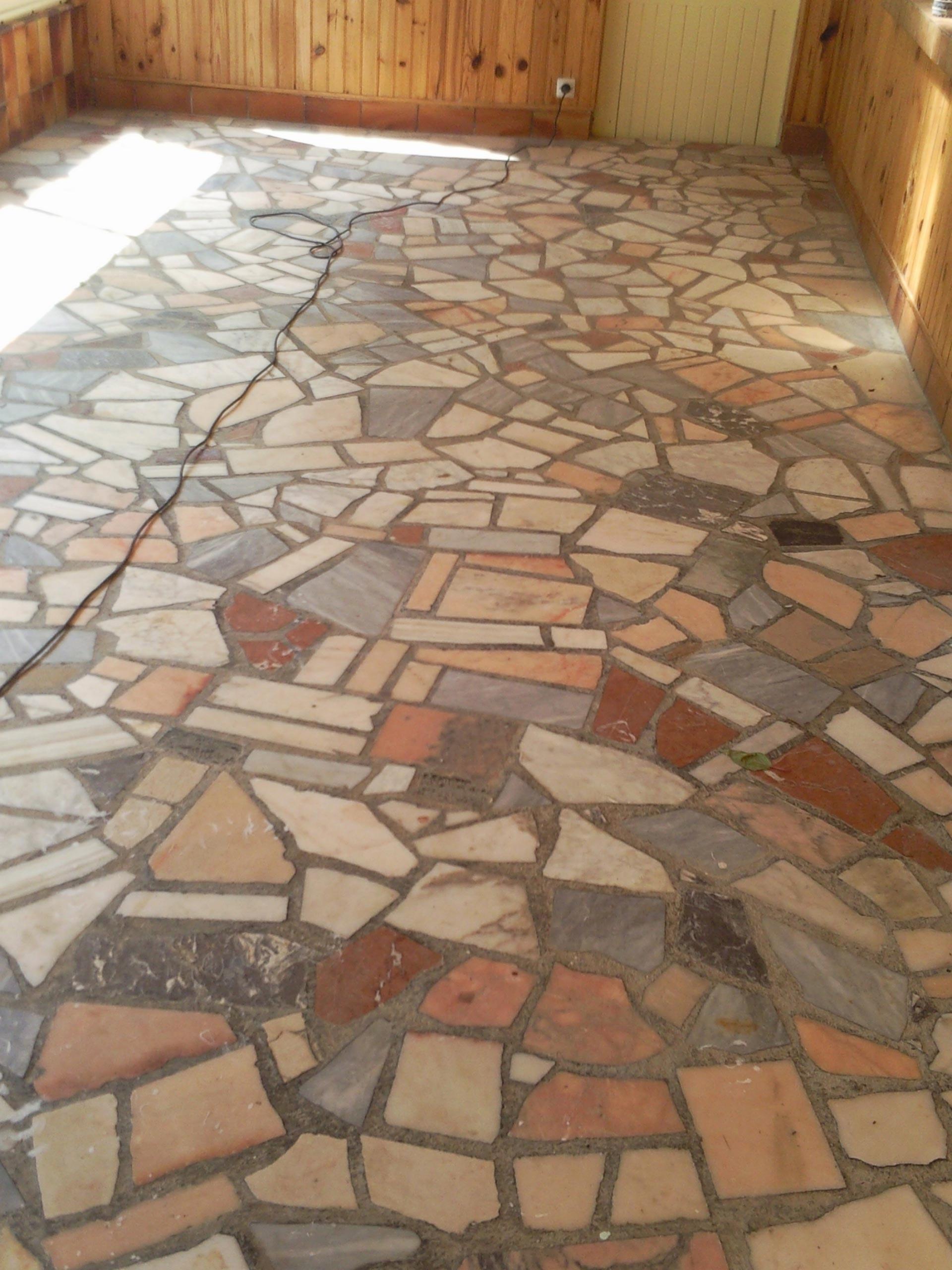 renovation des sols en pierre granito marbre